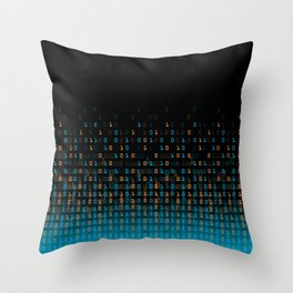 Binary Speed Throw Pillow