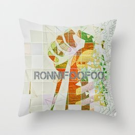 Clinch Throw Pillow