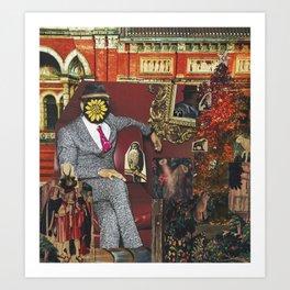 Emperor Art Print