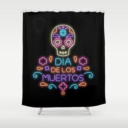 Día de los muertos Shower Curtain