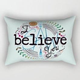 Healing Begins Rectangular Pillow