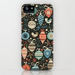 Festive Folk Charms iPhone Case