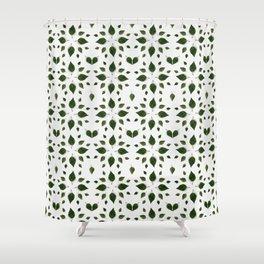 La feuille d'hibiscus Shower Curtain