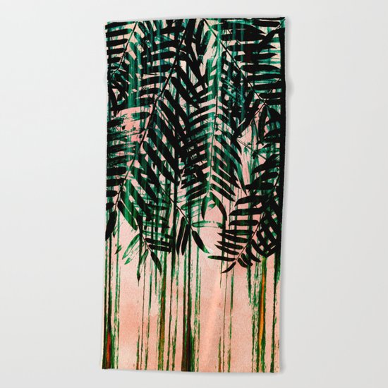FOLIAGE II Beach Towel