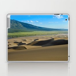 Great Sand Dunes against mountains Laptop & iPad Skin