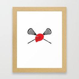 EPA Lacrosse Framed Art Print