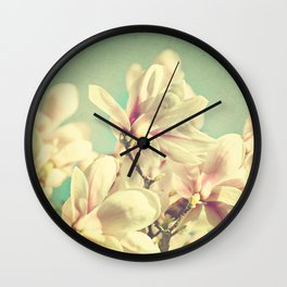 April is a promise Wall Clock