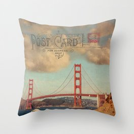 GROUND CONTROL - San Francisco Throw Pillow