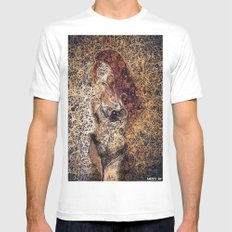 redHair Mens Fitted Tee White MEDIUM