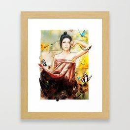 Ellen Allien Framed Art Print