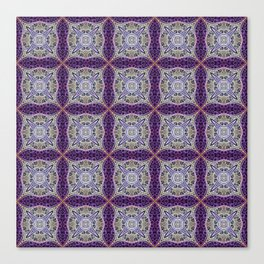 Of Purple and Gold Canvas Print