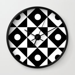 Monochrome Fantasy III Wall Clock