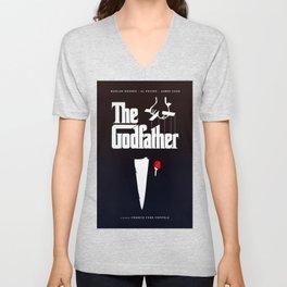 The Godfather, 1972 (Minimalist Movie Poster) Unisex V-Neck
