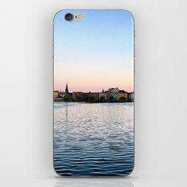 Clear & Blurry Lake iPhone Skin