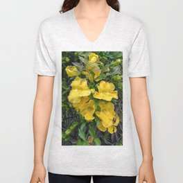 Cat's Claw Vines Unisex V-Neck