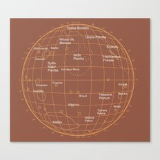 Mars 2 Canvas Print