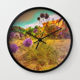 'Its Better To Burn Out Then Fade Away' Wall Clock