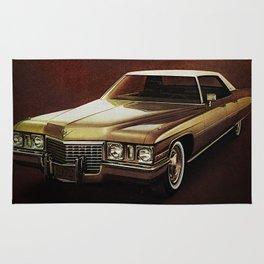 1972 Golden Cadillac Rug