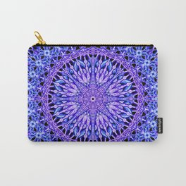 Beads of Light Mandala Carry-All Pouch