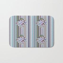 guides colored stripes Bath Mat