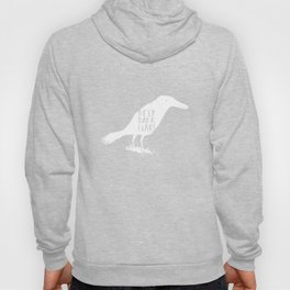 Deep Dark Fears - White Crow Hoody