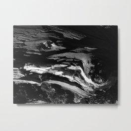 Rough waves Metal Print