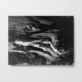 Rough waves Metal Print