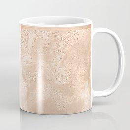 MARBLE HAZELNUT ROSEGOLD & HEXAGONAL Coffee Mug