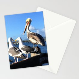 Four Little Birds : Morro Rock Stationery Cards