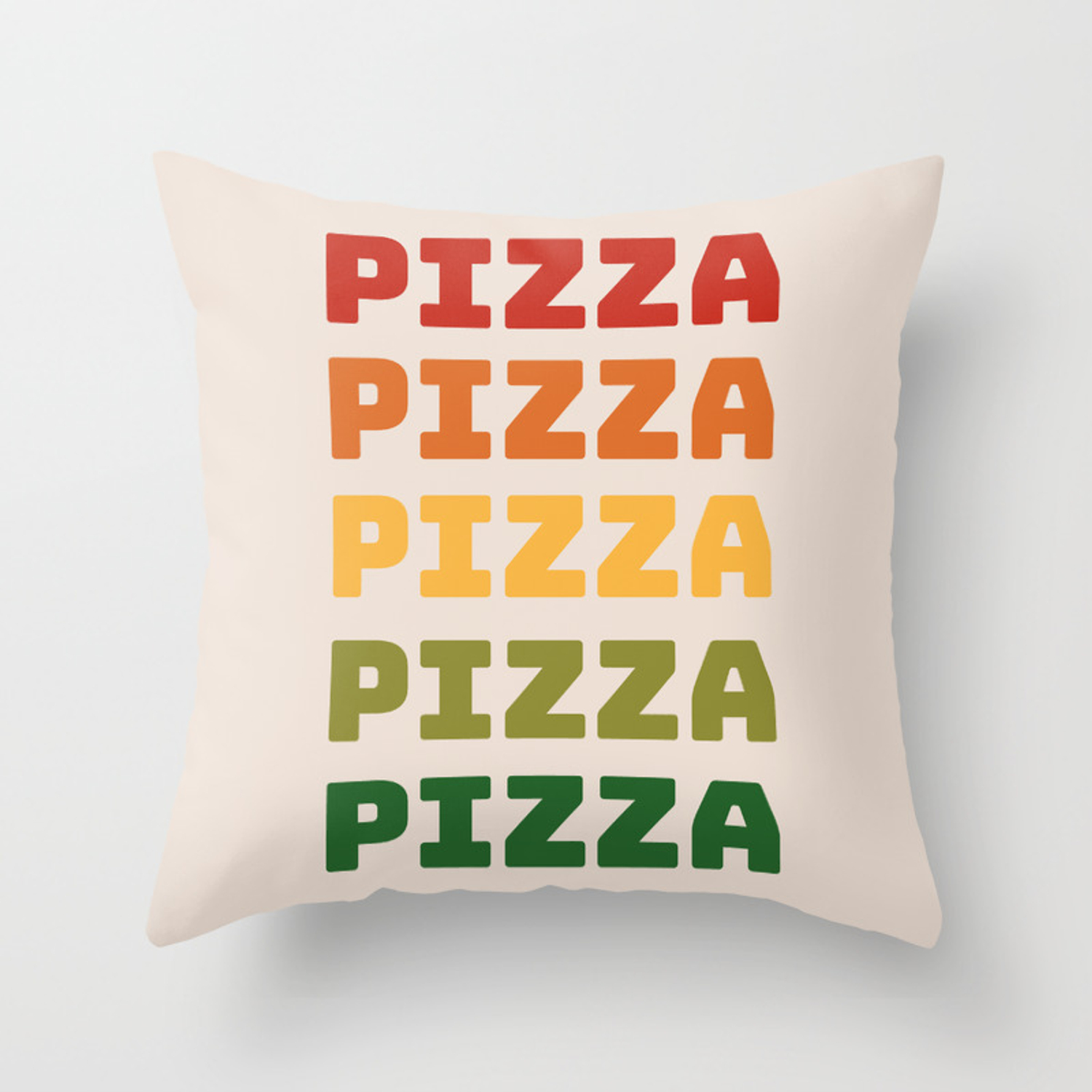 Pizza Throw Pillow By Wordquirk Society6