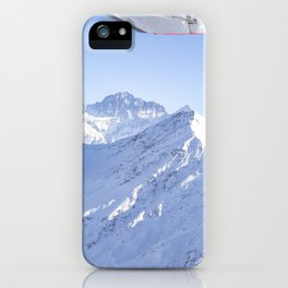 Mountains in Georgia iPhone Case