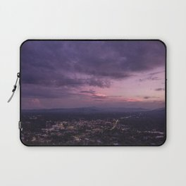 Asheville Stormy Nights Passing By Laptop Sleeve