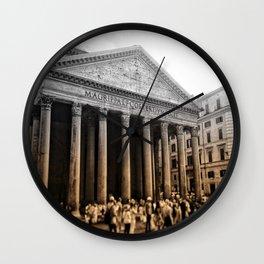 Agrippa built the Pantheon Wall Clock