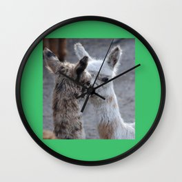 Starflex, who could say no to those eyes Wall Clock