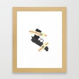 Haaaaaaans! Framed Art Print
