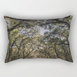 Wormsloe Live Oak Avenue - Savannah III Rectangular Pillow