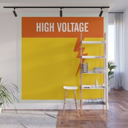 High Voltage Wall Mural