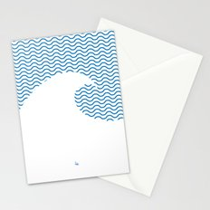 Wavy Wave Stationery Cards