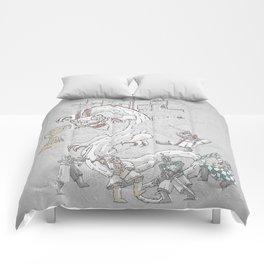 Year of the Killer Rabbit Comforters
