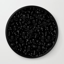 A Spooky Situation Wall Clock
