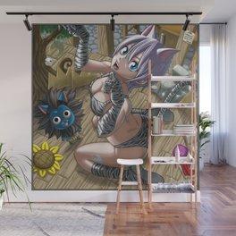 Lisanna Cat Wall Mural
