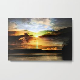 the eternal glory of rising sun Metal Print
