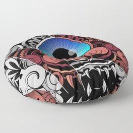 Extraterrestrial Barong Floor Pillow