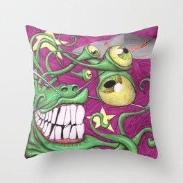 Invasion Phreak Throw Pillow
