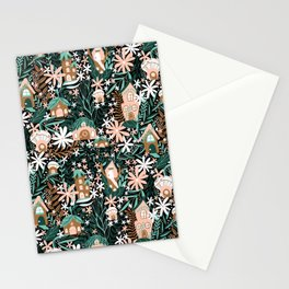 Fairy Village Stationery Cards