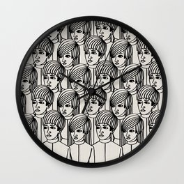 Brave New World - The Bokanovsky Process Wall Clock