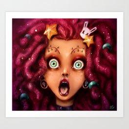 Kandy Goth Art Print