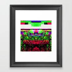 Bug Eyed Framed Art Print