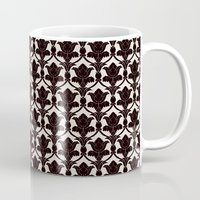 221b Mugs featuring 221B by Jessica Cushen