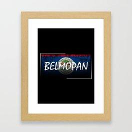 Belmopan Framed Art Print